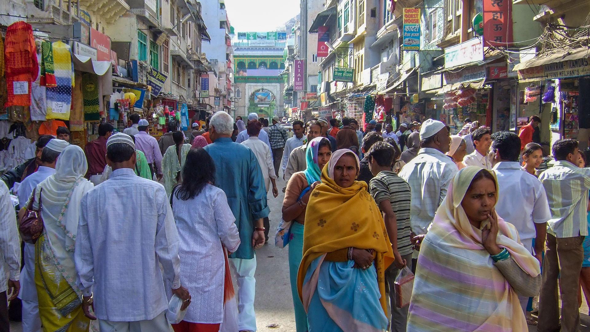 Ajmer sokakları