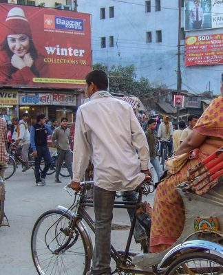 Bisiklet rickshaw