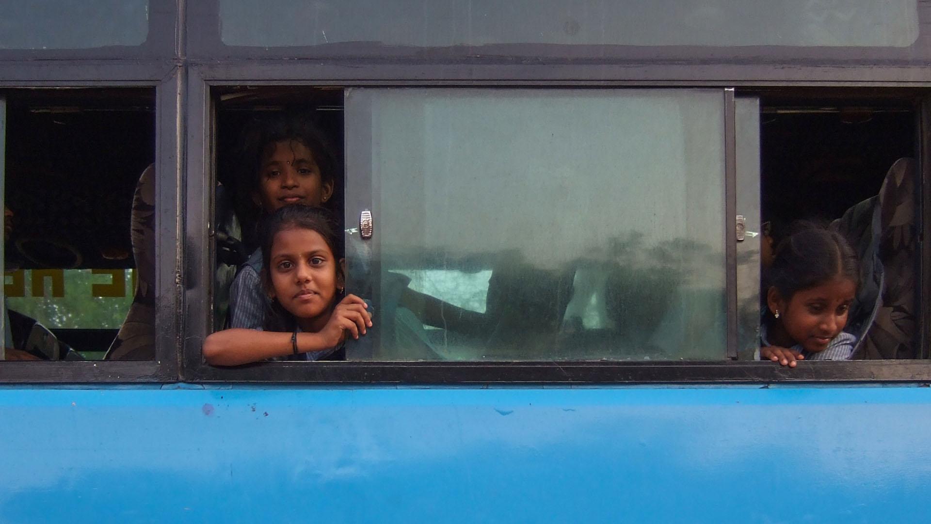 Otobüs yolcuları