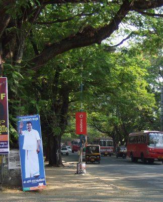 Ernakulam'dan bir sokak