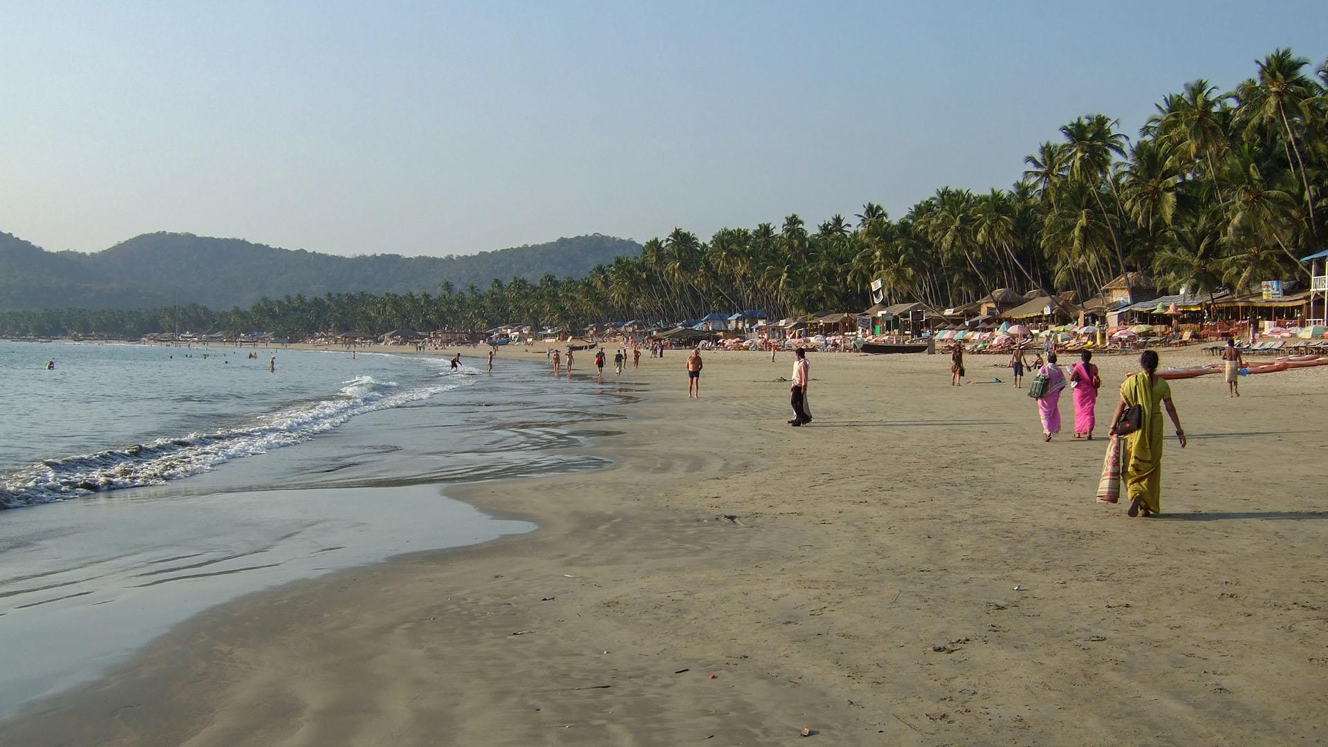 Palolem plajı