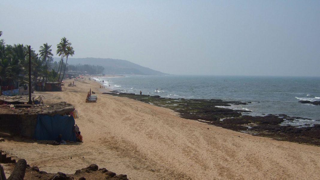 Anjuna plajı