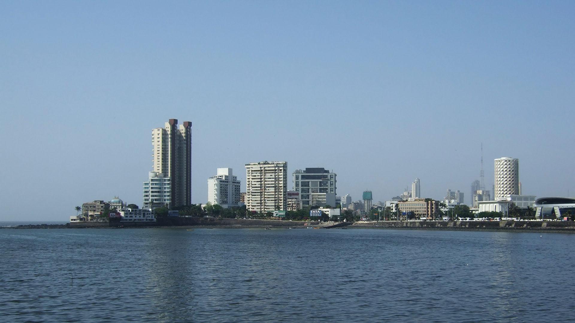 Şehrin modern bölgesi, Colaba