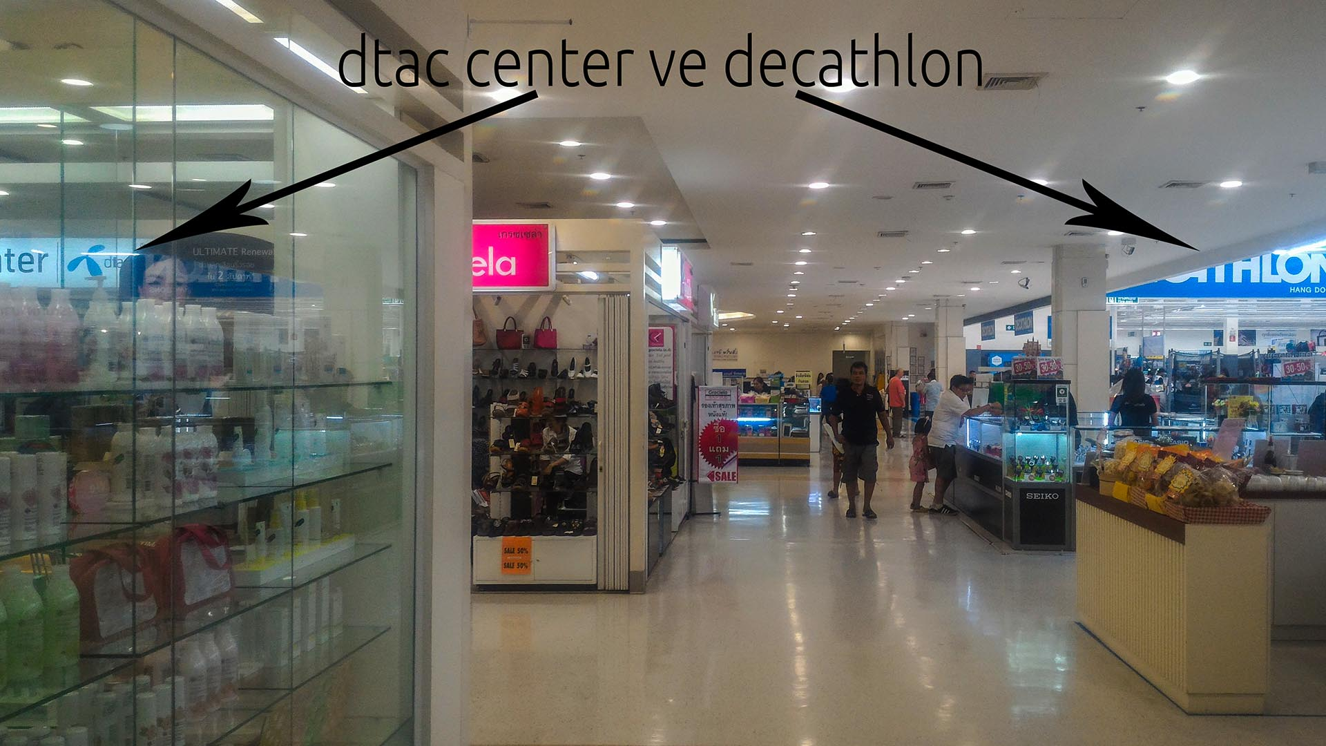 dtac ve decathlon
